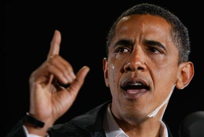 Obama's crying
